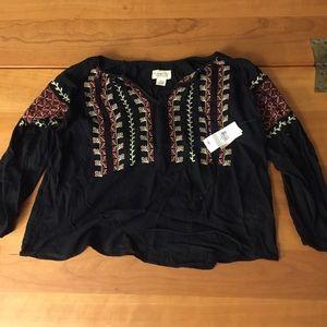 Denim and Supply Ralph Lauren Poncho Shirt
